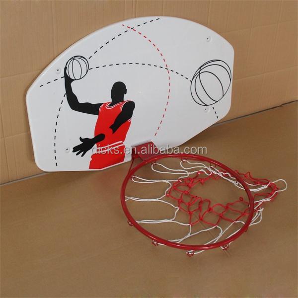 Size Basketball Backboard For Kids With Metal Hoop Buy