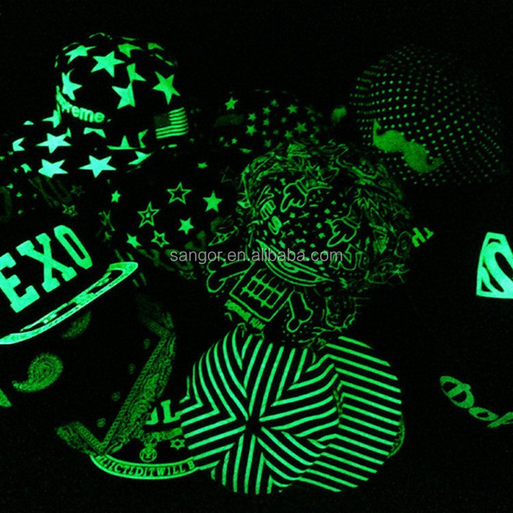 Glow In The Dark Snapback <strong>Hats</strong>