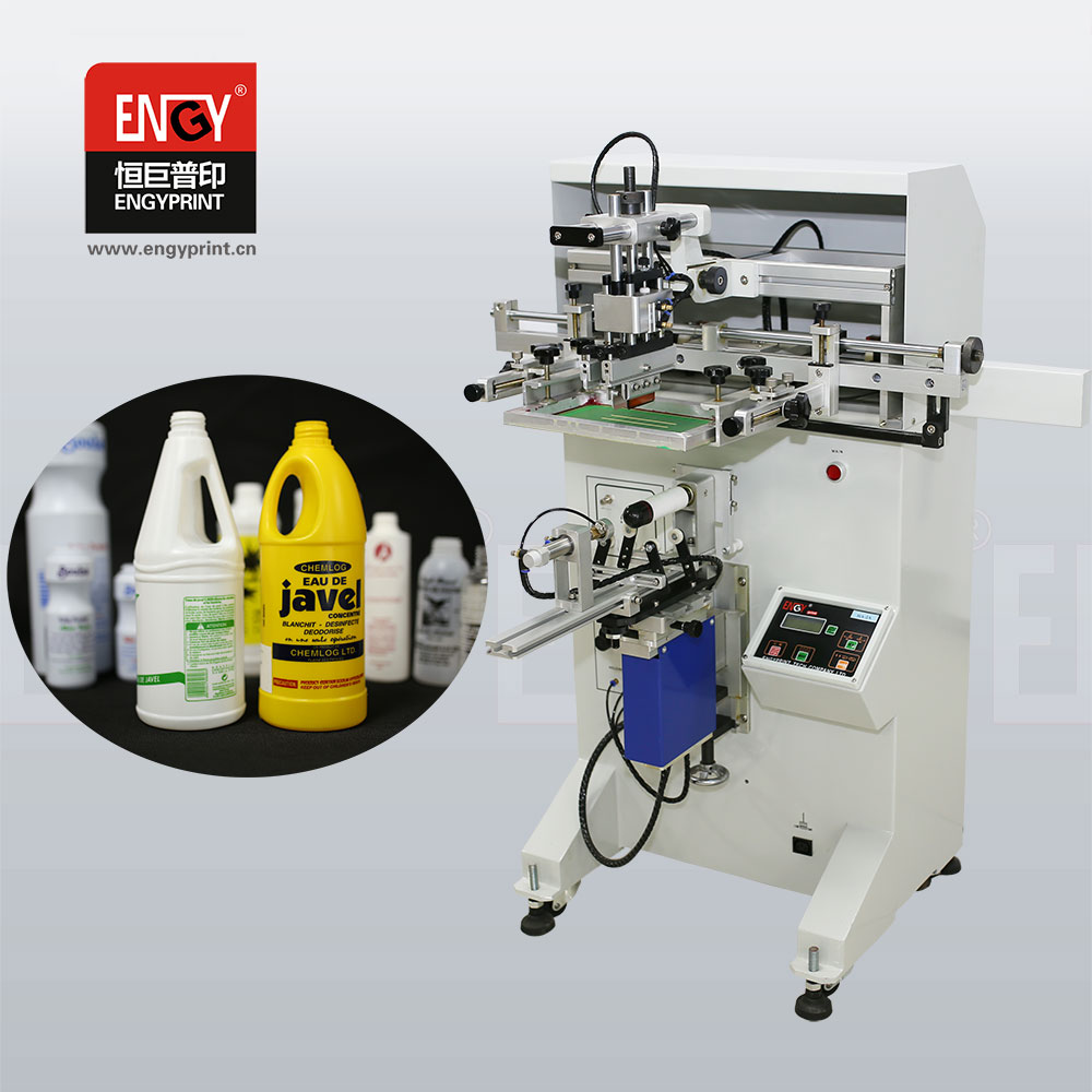 Multi-function Semi Automatic Crystal Pen Perfume Glass Plastic Bottles Silk Screen Printing Machine