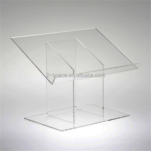 Book Lectern Wholesale Tabletop Book Stand Clear Acrylic Bible Stand