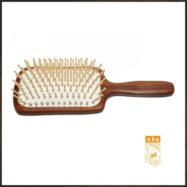 TAN'S wooden easy clean boar hair brush bristle hair brush factory