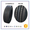 made in China cheap price 315 80r22.5 used truck tires