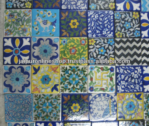 Blue Pottery Tiles Product On Alibaba