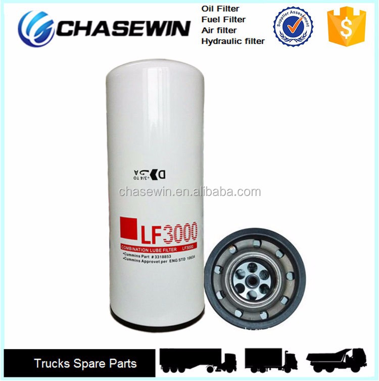 Low price top quality lf3000 truck engine oil filter buy engine filter quality filter oil Best price on motor oil