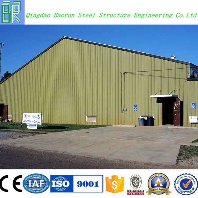 Industrial structural steel fabrication shed designs