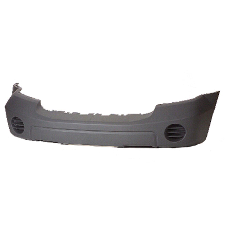 Crash Parts Plus Gray Front Bumper Cover for 07-09 Dodge Durango CH1000899