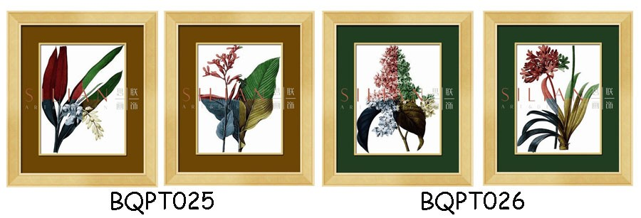 Trending green leaf painting newly designed plant home decor