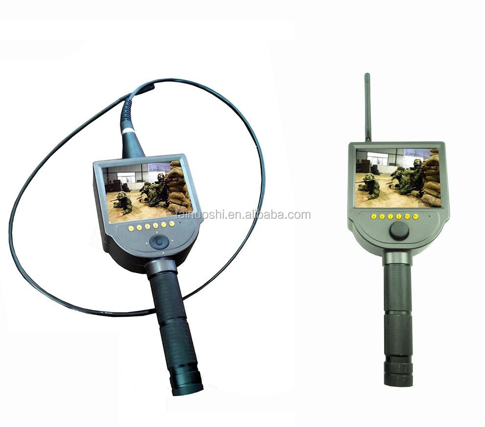 360 degree omnidirectional wireless transmission remote wireless real-time watching police wireless video endoscope