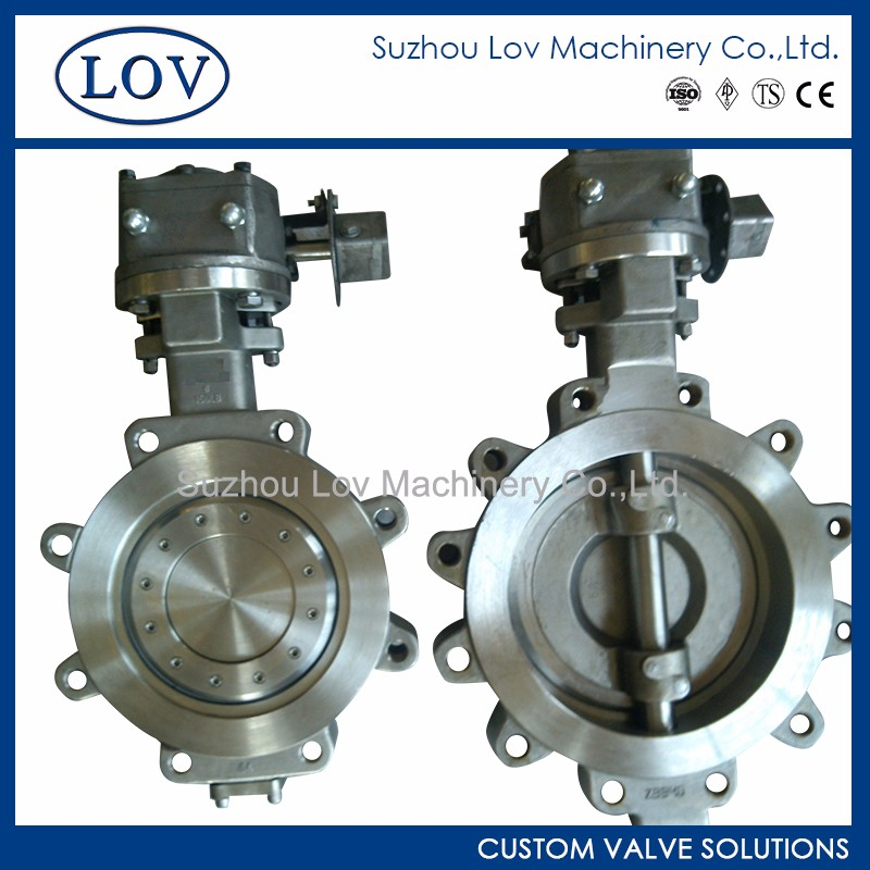 Double Offset Stainless Steel Butterfly Valves dn250