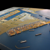 Scale Model Building for Ali Port