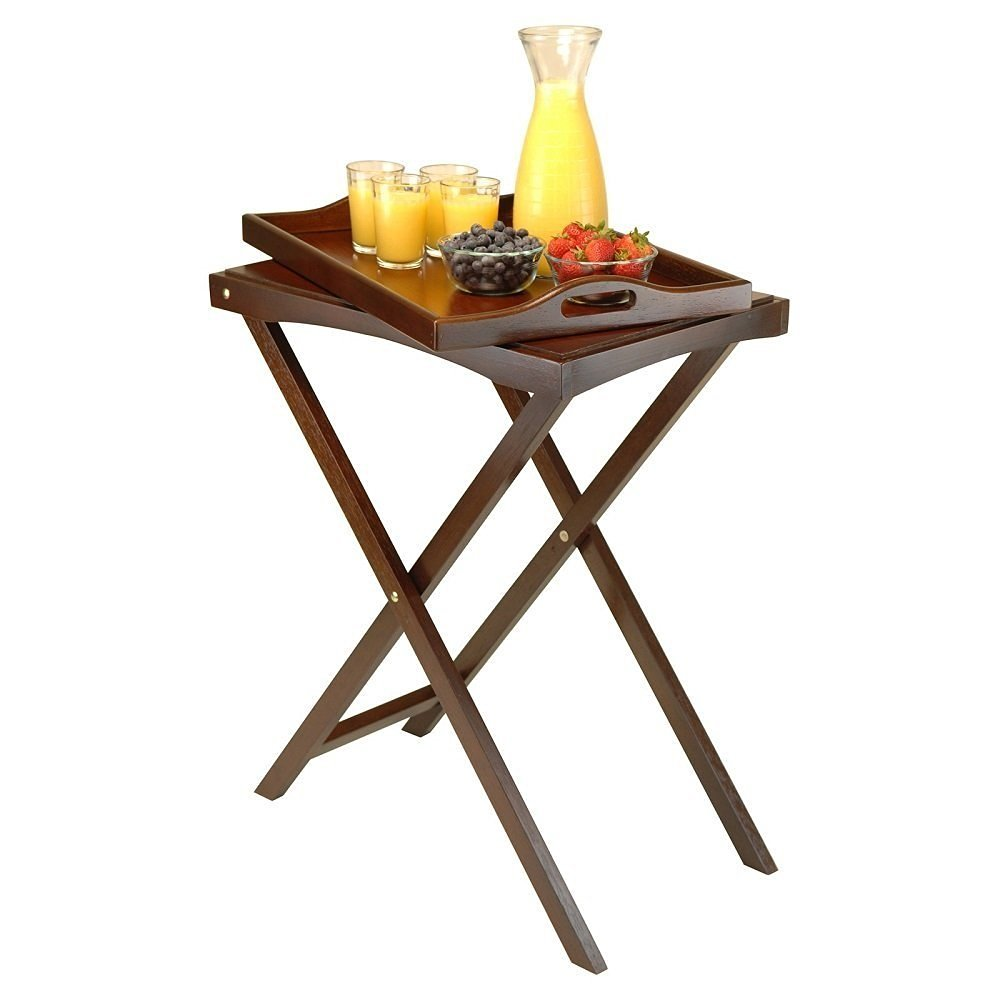 Tv Tray Tables Furniture Home Sofa Portable Coffee Eating Snack For Living Room Folding