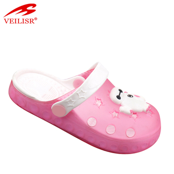 467cf3b6d210 New Style Children Beach Jelly Shoes Clear Pvc Sandals Kids Clogs ...