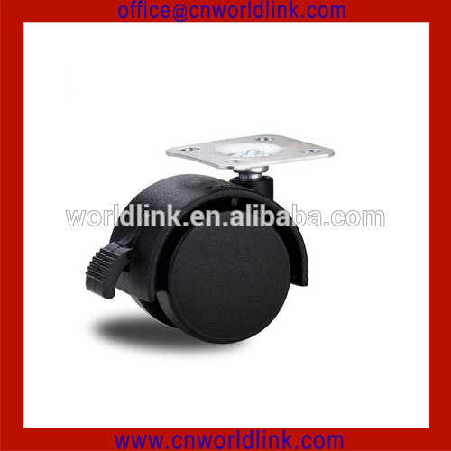 Black New Hot Nylon Heavy Duty Furniture Ball Caster