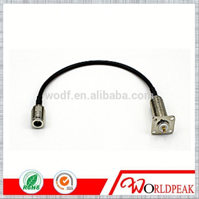 n type connector pigtail rf feeder cable tv accessories