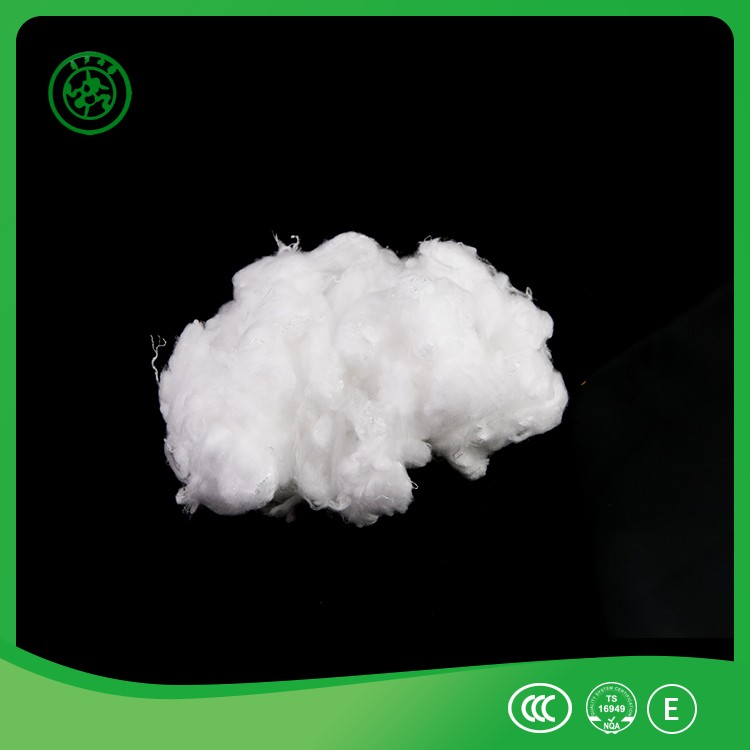 white polyester staple fiber for geotextile/polyester mat