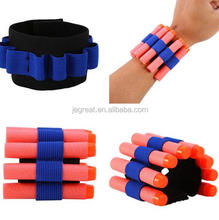Quick Reload Clips Foam Darts Wristband Bracelet can hold soft bullet