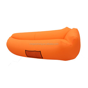 2017 Hottest Patent Pillow Shape Float On Water Lazy Bed Air Sofa Inflatable Lounger Sleeping Bag