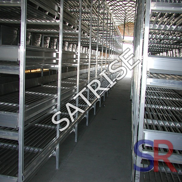 Multi-functional warehouse storage rack/mushroom growing shelves