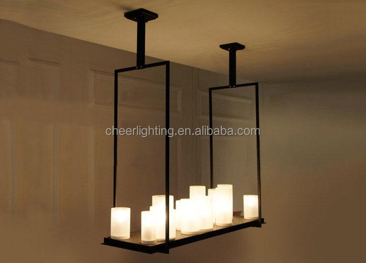 Kronleuchter Metall Für Kerzen ~ Modernen innovativen kerze und metall leuchte altar anhänger