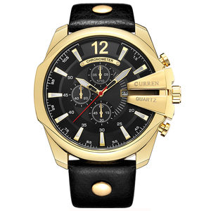 Curren 8176 Men Top Selling Luxury Brand Quartz Rose Gold Watches Men Fashion Male Clock Watch