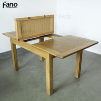 oak furniture popular extendable oak table 6 seater oak wood dining table