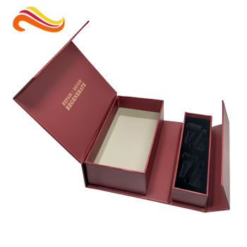 Bestyle Creative magnet closure Cardboard paper packaging box with EVA foam tray velvet