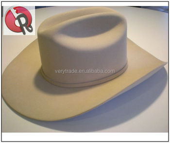 White Indiana Jones Western Cowboy Fedora Hat Wool Hat With Leather Band