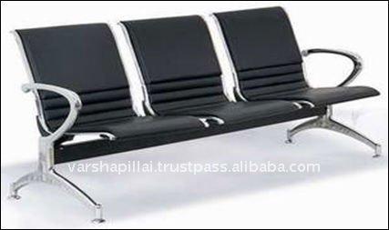 Oficina muebles de sala espera sillas de metal for Muebles sala de espera