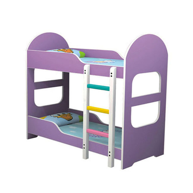 New arrival children furniture bed wood kindergarten kids bed