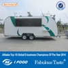 BAOJU FV-78 coffee food trailer concession food trailer mobile kitchen trailer