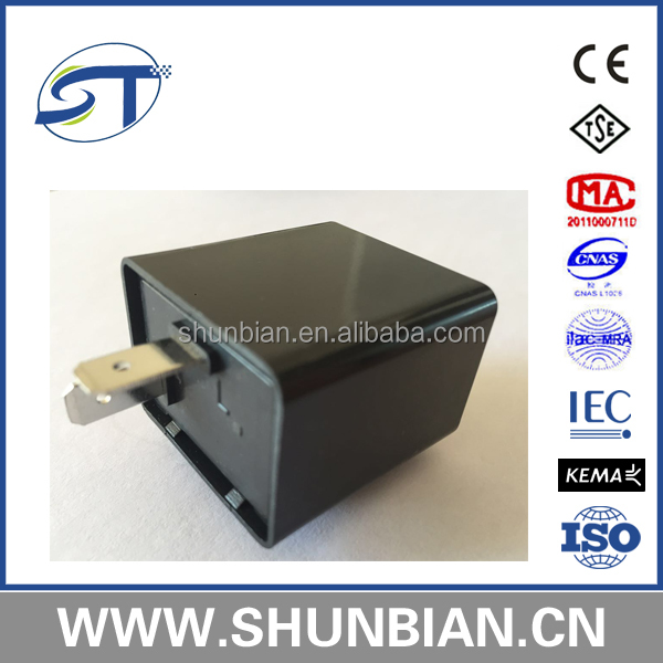 Good quality hot sale 12V 2*8W Electronic Flasher for Car, Dune buggy