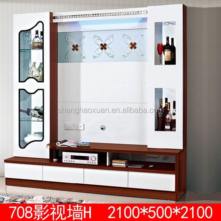 Lcd Tv Showcase Designs Unit Design For Hall View