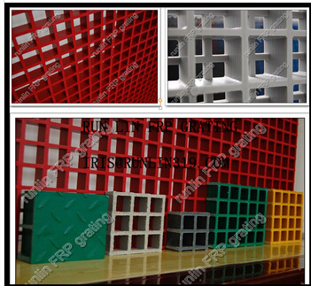 """Fiberglass Chemical Resistance Gratings with Different Surface """