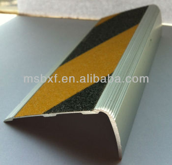Superior Non Slip Fabric/pvc Stair Treads/heavy Duty Aluminium Stair Nosing/ss Stair