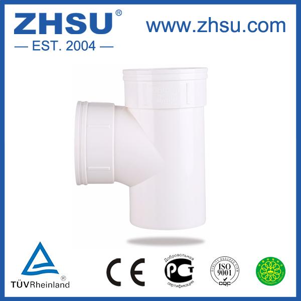50-200mm Upvc Equal Tee Coupling