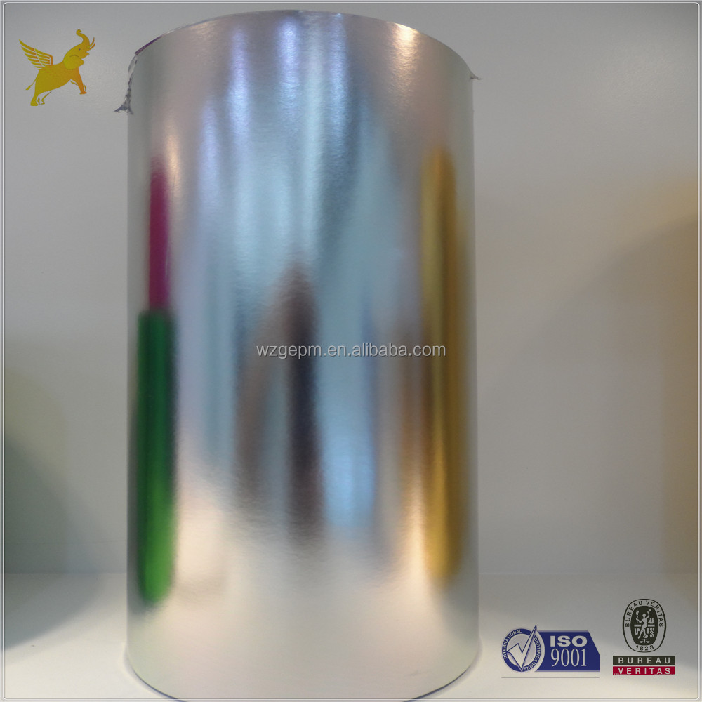 Best one 68gsm wet strength Vacuum Metallized paper for beer label