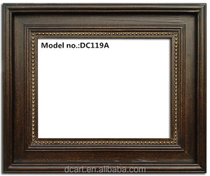 2014 new wooden carved picture/painting frame, good quality and antique style