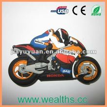 Private Mould Motorcycle USB Drive 2.0