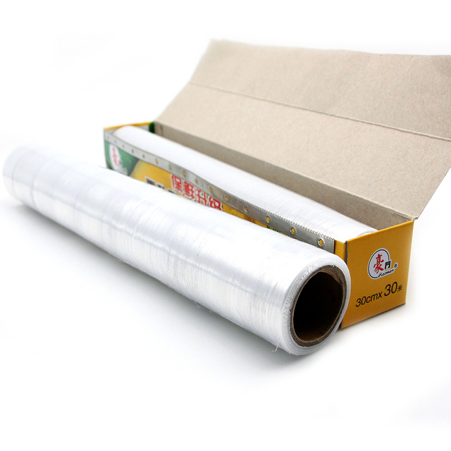 Factory Price LDPE Plastic Fresh Keeping Food Wrap Cling Wrap Stretch Film