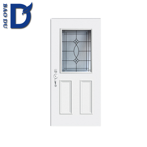 american steel door factory sell metal leaf wood frame