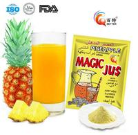 Natural Fruit Concentrate Juice Powder (Pineapple Powder)