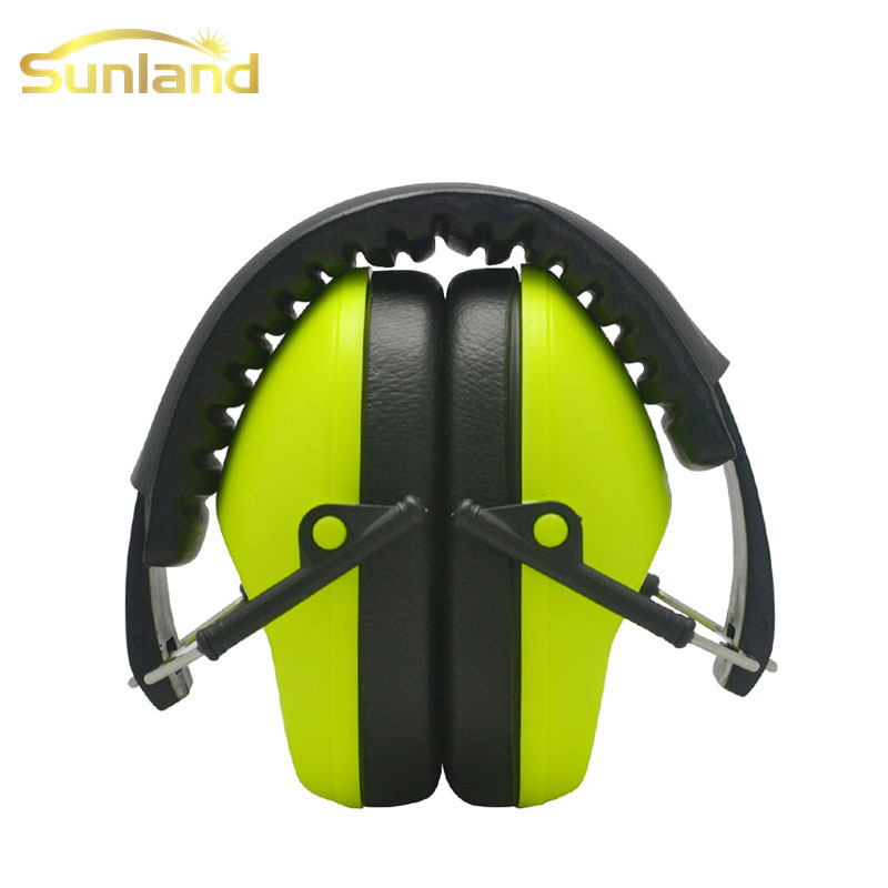 Novelties kid ear mufflers reinforced ABS headband for noise