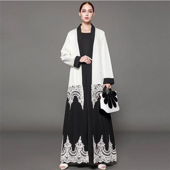 ladies middle robe plus 4xl 5xl islamic fashion 2019 6xl ethnic size turkey eastern Abaya Malaysia FUq65nw0