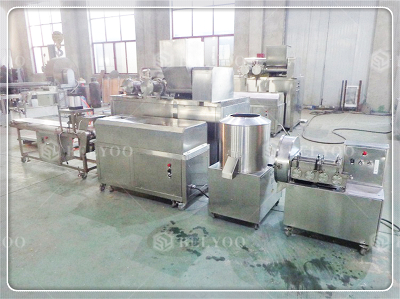 prawn cracker machinery