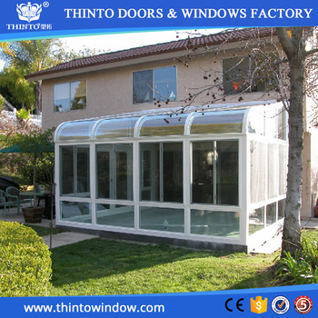 Alibaba High Quality Triple Glazing Used Sunroom Garden Room