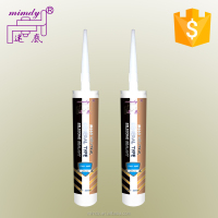 Silicone main raw material construction usage acetoxy and neutral GP silicone sealant used for glass