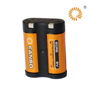 6V lithium battery combination 1400mAh camera dedicated FANSO 2CR5 lithium battery