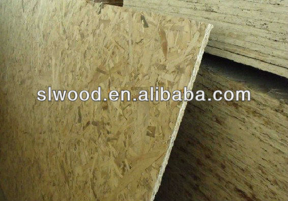 the original ecological Oriented Strand Board used in furniture and decoration