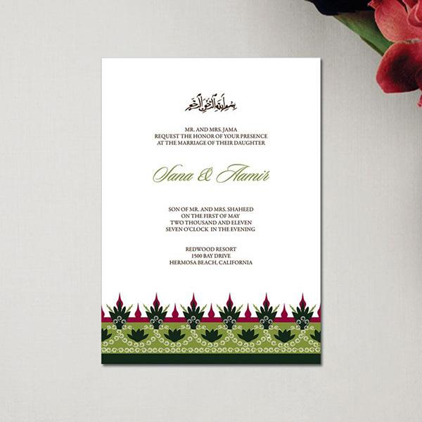 Top Sale Scroll Laser Cut Muslim Wedding Invitation Card Buy Muslim Wedding