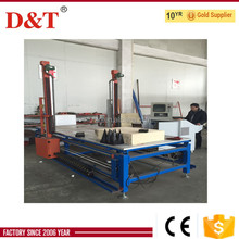 Hangzhou City D&T cnc thermocol sheet decoration foam cutting machine with special profiler software